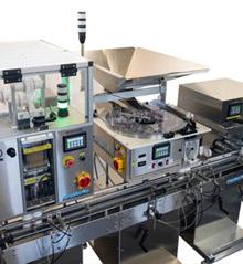 Deitz Pharmafill complete filling packaging line