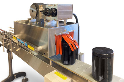 Extra Wide Heat Shrink Tunnel For Extra Wide Containers