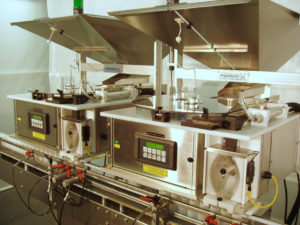 Deitz Company two TC3 automated tablet counters twice as fast