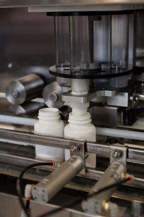 Packaging Machinery Manufacturer Unveils Higher Speed Option on Automated Cotton Inserter